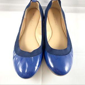 Banana Republic Blue Patent Leather Ballet Flats